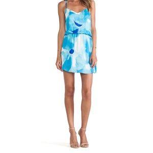 Parker 'Jameson' Dress in Tie-Dye Poolside Blue